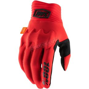 Red/Black Cognito Gloves