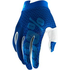 Blue/Navy I-Track Gloves