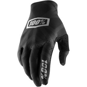 Black/Silver Celium 2 Gloves