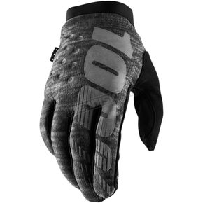 Heather Gray Brisker Gloves