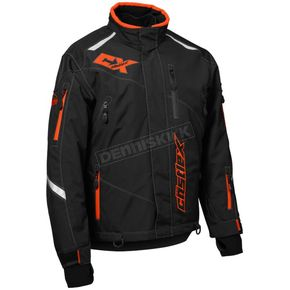 Black/Orange Thrust G2 Jacket - 70-7356