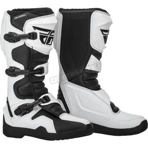 White/Black Maverik Boots