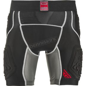 Black Barricade Compression Shorts