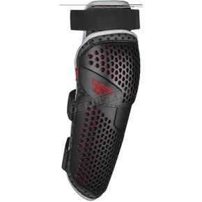 Black/Red Barricade Flex Knee Guard - 28-3111