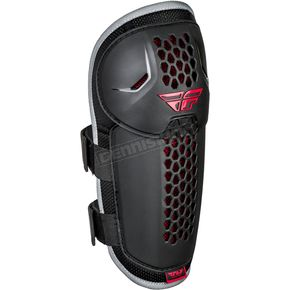 Youth Black/Red Barricade Knee/Shin Guard - 28-3115