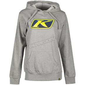 Non-Current Women's Light Gray Vista Hoody