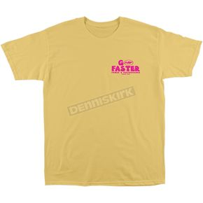 Men's Yellow Go Faster T-Shirt