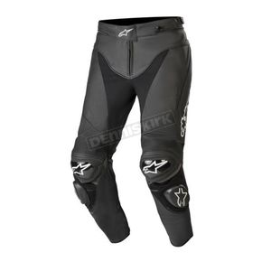 Black Track v2 Leather Pants