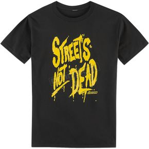 Black Streets Not Dead Tee Shirt