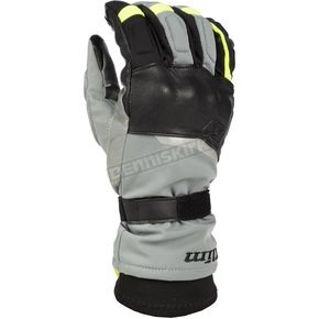 Gray Vanguard GTX Long Gloves