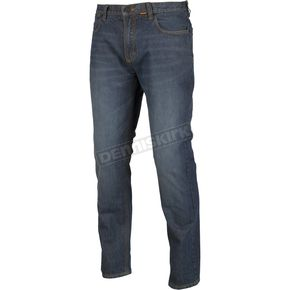 Dark Blue K Fifty 2 Straight Riding Jeans