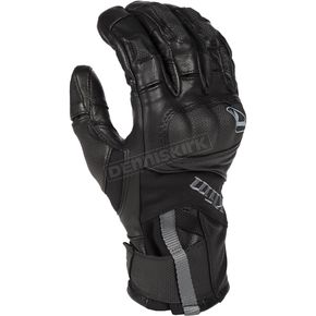 Black Short Adventure GTX Gloves