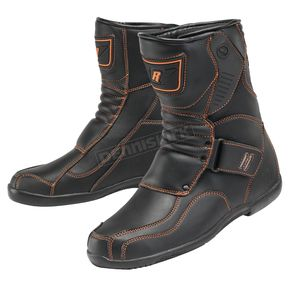 Black/Orange Mercury Boots