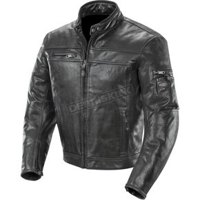 Black Powershift Leather Jacket