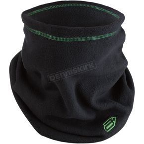 Black/Green Fleece Neck Warmer - 2502-0201