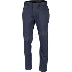 Blue The Primary Single Layer Riding Jeans