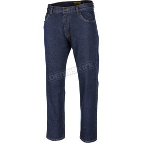 Blue The Standard Lined Riding Jeans