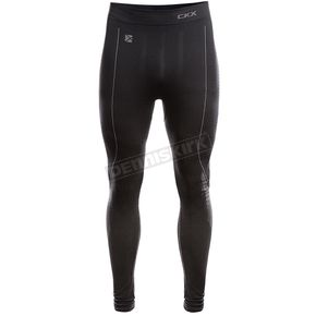 Black/Gray Thermo Base Layer Pants - THERMOBAS_BKGY_XL