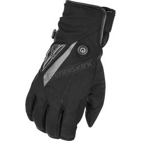 Black Title Heated Gloves - 476-29302X