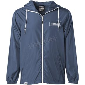 Navy Yamaha Windbreaker Jacket