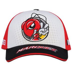 Youth Red/White Marc Marquez MM93 Ant Cartoon Hat - MI-1843008