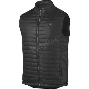 Black Heated Puffer Vest