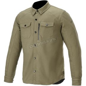 Green Newman Overshirt