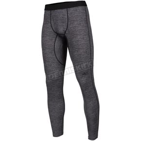 Black Heather Aggressor 2.0 Base Layer Pants