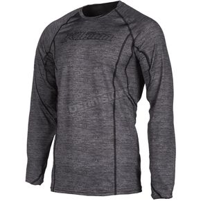 Black Heather Aggressor 1.0 Base Layer Shirt