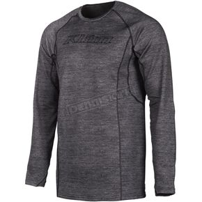 Black Heather Aggressor 3.0 Base Layer Shirt