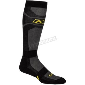 Black Vented Socks