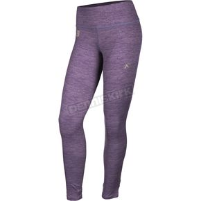Women's Deep Purple Solstice 1.0 Base Layer Pants