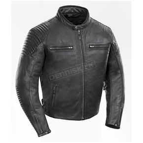 Black Sprint TT Leather Jacket