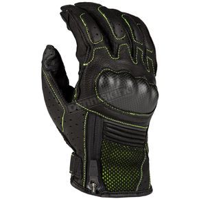 Black/Hi-Vis Induction Gloves