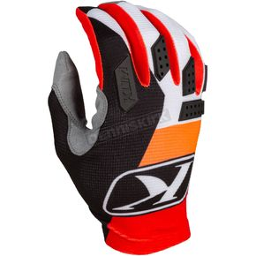 Youth Orange Krush XC Lite Gloves