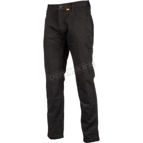 Black K Fifty 2 Straight Riding Jeans