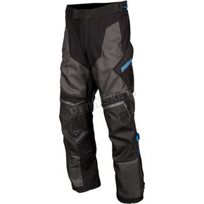 Black/Kinetik Blue Baja S4 Pants - 4062-000-030-000