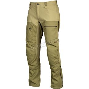 Sage/Burnt Olive Switchback Cargo Pants - 3917-000-034-300