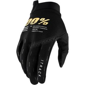 Black Itrack Gloves