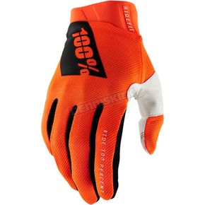 Orange Ridefit Gloves