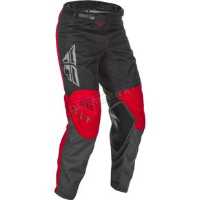 Youth Red/Gray/Black Kinetic K121 Pants - 374-43218