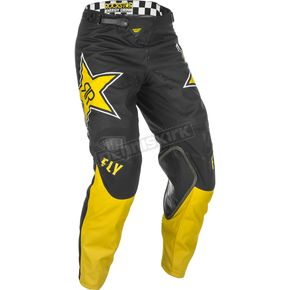 Yellow/Black Kinetic Rockstar Pants