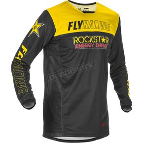 Yellow/Black Kinetic Rockstar Jersey