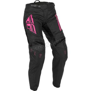 Women's Black/Pink F-16 Pants