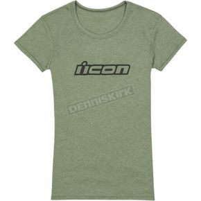 Womens Green Clasicon T-Shirt