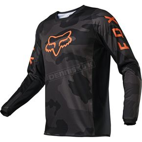 Youth Black Camo 180 Trev Jersey - 26458-247-YM