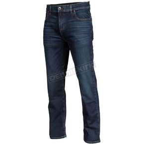 Indigo Unlimited Straight Stretch Denim Riding Jeans