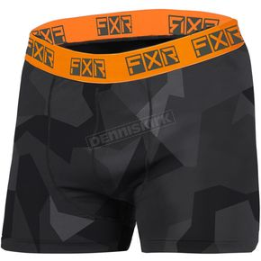 Char Camo/Orange Atmosphere Boxers