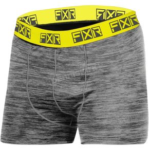 Grey Heather/Hi-Vis Atmosphere Boxers