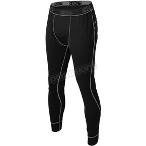 Black Vapour Merino Pants